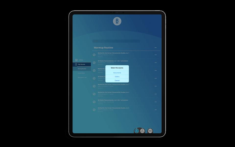 BlackBinder: Your Interactive Sheet Music App