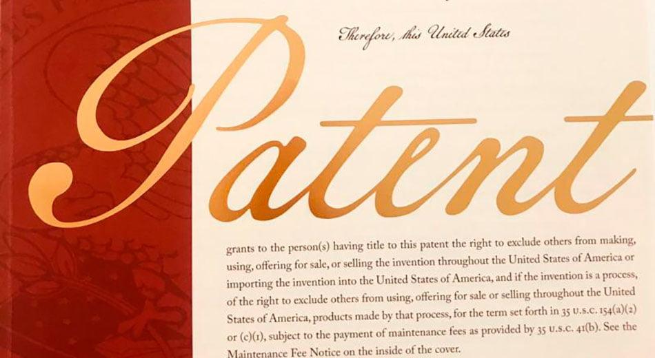 Blackbinder's patent USA